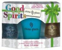 Good Spirits - Kit 2 esmaltes China Glaze + Copo