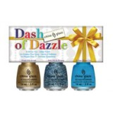Dash of Dazzle - Kit 3 esmaltes China Glaze